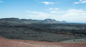 Stationnement national de Timanfaya Images stock