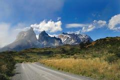Stationnement national de Torres Del Paine Photos stock