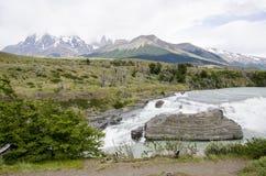 Stationnement national de Torres del Paine Photo stock
