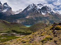 Stationnement national de Torres del Paine - Chili Image stock