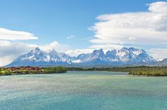 Stationnement national de Torres del Paine, Patagonia, Chili image stock