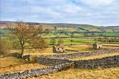 Stationnement national de vallées de Yorkshire Images stock