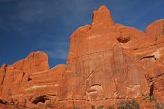 Stationnement national de voûtes en Utah, Etats-Unis Image stock