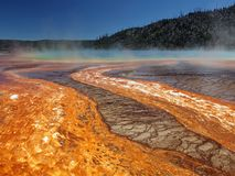 Stationnement national de Yellowstone Image libre de droits