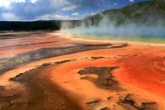 Stationnement national de Yellowstone Photos stock