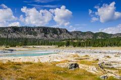 Stationnement national de Yellowstone, Wyoming, Etats-Unis Photo stock