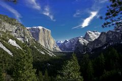 Stationnement national de Yosemite Photos libres de droits