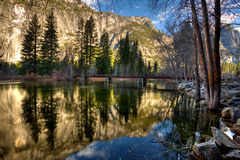 Stationnement national de Yosemite Images libres de droits