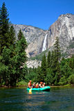 Stationnement national de Yosemite, Etats-Unis Images stock
