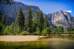 Stationnement national de Yosemite, la Californie, Etats-Unis Photo stock