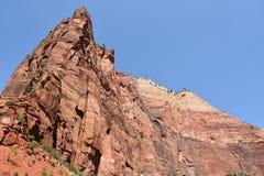 Stationnement national de Zion en Utah Photo stock