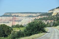 Stationnement national de Zion en Utah Photo libre de droits