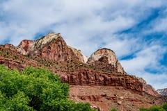 Stationnement national de Zion, Utah image stock