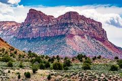 Stationnement national de Zion, Utah photos stock