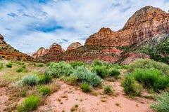 Stationnement national de Zion, Utah photo libre de droits