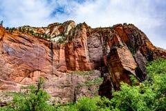 Stationnement national de Zion, Utah photographie stock libre de droits