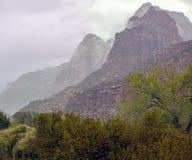 Stationnement national de Zion, Utah photographie stock