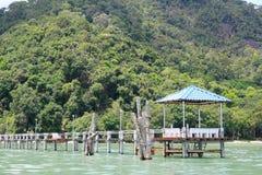 Stationnement national et quai de Penang Photographie stock