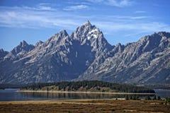 Stationnement national grand de Teton Photographie stock libre de droits