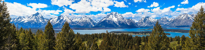Stationnement national grand de Teton Image stock