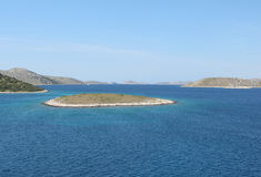Stationnement national Kornati Photographie stock libre de droits