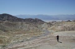 Stationnement national la Californie de Death Valley Photographie stock libre de droits