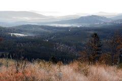 Stationnement national Sumava dans la République Tchèque Photo libre de droits