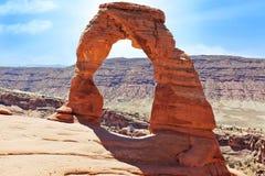 Stationnement national Utah de voûtes Images libres de droits