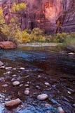 Stationnement national Utah de Zion photographie stock