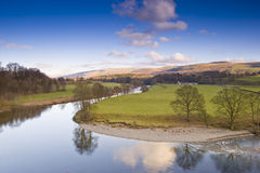 stationnement national Yorkshire de vallées Image libre de droits