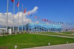 Stationnement olympique images libres de droits