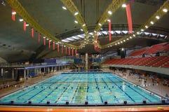 Stationnement olympique de Montréal Photo libre de droits