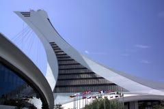 Stationnement olympique - Montréal - Canada Image stock