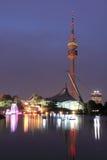Stationnement olympique à Munich Photos libres de droits