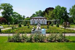 Stationnement Palmen Garten, Francfort sur Main Image libre de droits