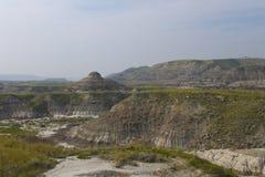 Stationnement provincial de dinosaur dans Drumheller Image libre de droits