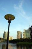 Stationnement public à Kuala Lumpur Images libres de droits