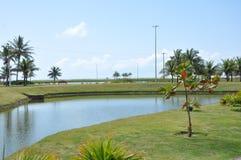 Stationnement public d'Aracaju photos stock