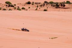 Stationnement rose de corail 2 de sables Photographie stock