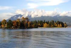 stationnement Stanley Vancouver du Canada Photo libre de droits