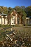 Stationnement Sychrov de château photo libre de droits