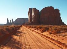 Stationnement tribal de Navajo de vallée de monument Photographie stock