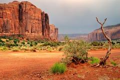 Stationnement tribal de vallée de monument Image libre de droits