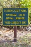 Stationnements d'état de la Floride photo stock