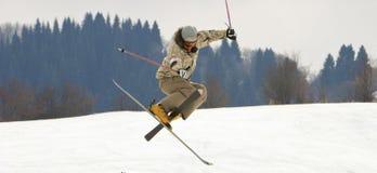 stationnez la neige Photo libre de droits