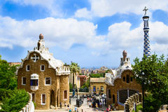 Stationnez le guell Images stock