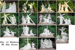 The Stations of the Cross Royalty Free Stock Image