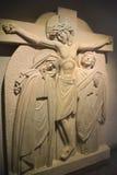 Stations de la croix ou de la manière de la croix Image libre de droits