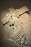 Stations de la croix ou de la manière de la croix Photos libres de droits