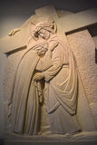 Stations de la croix ou de la manière de la croix Images libres de droits